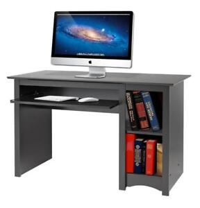 FREE shipping in Canada! Black Computer Desk by Prepac at Wholesale Furniture Brokers