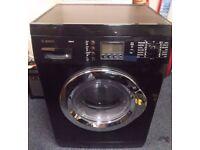 Bosch Black Washing Machine ,Torquay Devon