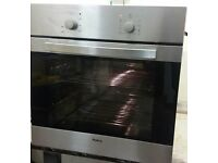 AMICA,STAINLESS STEEL.ELECTRIC,MULTIFUNCTION FAN OVEN/GRILL. IMMACULATE CONDITION.