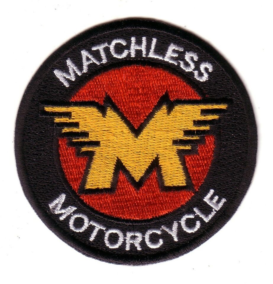 MATCHLESS EMBROIDERED PATCH