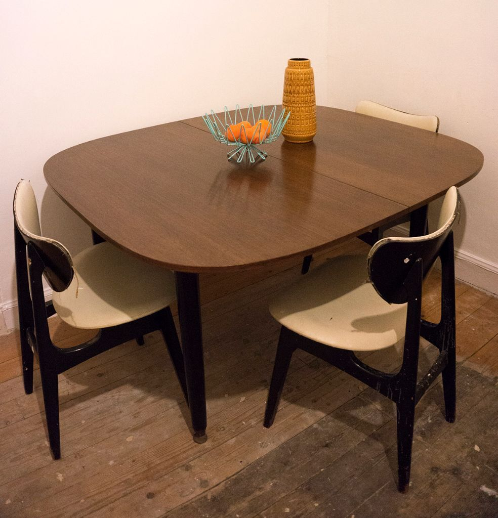 Mid Century Vintage G Plan E Gomme Teak Extending Dining Table