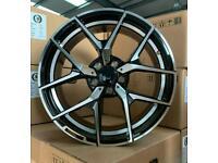 "Mercedes C Class E Class S Class x4 18"" C63 Amg 507 Style Alloy Wheels 8J/9J"