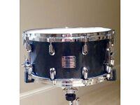 Yamaha Maple Custom Absolute Snare 14 x 7 Black Sparkle