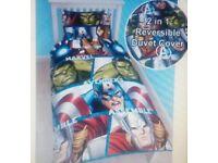 Marvel single bedding duvet cover set