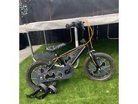 Boys 14inch Batman bike