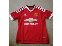 Genuine Manchester United Football Shirt Age 11-12 Years