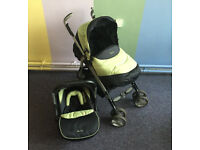 Silver Cross Travel System – Pushchair with Infant Carrier / Car Seat