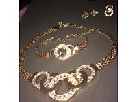 4pc gold plated set