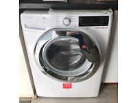 HOOVER DXP49AIW3 DYNAMIC NEXT 9KG 1400 SPIN A+++ WASHING MACHINE WHITE & CHROME
