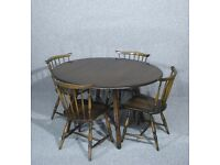 Vintage, Ercol, Drop Leaf , Dining, Kitchen Table, - Matching Chairs Available