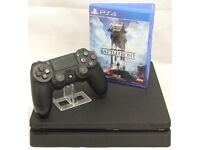 SONY Playstation 4 PS4 Slim 500GB CUH-2016A BLACK Console & Battlefront Game