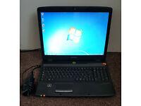 "17"" Emachines Laptop, Windows 7, Dual Core. £60 ono"