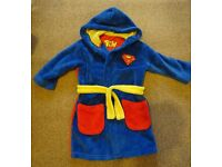 Superman Dressing Gown age 2-3 years