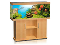 5FT JUWEL RIO 400 LITER FISH TANK AND STAND FOR SALE