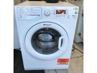 HOTPOINT 9/6kg washer dryer 1400 spin £180 good condition