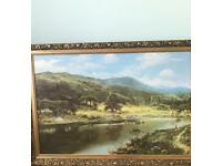 Large landscape scene picture