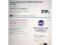 Hideout Festival Ticket x 2