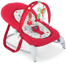 Pre loved baby Chicco Hoopla bouncer