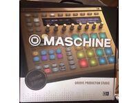 NI Maschine mk2 (Gold)