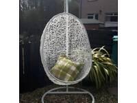 Garden swing chair