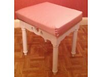 Childrens Wooden Dressing Table Stool