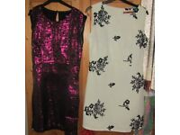 Stunning Brand New Party Dresses - Size 8 - They dress a 10 - Collection only