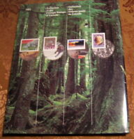 Souvenir Collection Postage Stamps of Canada - 1993