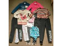 Girl's clothes bundle size 7-8 yrs