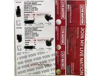 Taylor Swift Reputation Tour Tickets London 22nd June - Pitch Seats