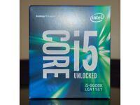 Intel i5-6600k 3.5GHZ Brand New unopened CPU LGA1151
