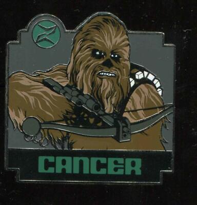 Star Wars Zodiac Mystery Cancer Chewbacca Disney Pin 96548