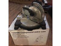 1200w Compound Mitre Saw