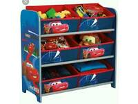 Disney Cars Toy Storage Unit