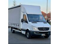 Mercedes sprinter 316 automatic Curtain sider Tail Lift