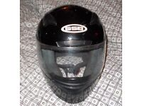 GSB Motorcycle Scooter Bike Road Racing EC 22.05 Approved Full Face G335 Helmet (size M 57-58cm)
