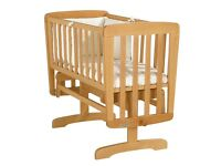 Mamas and Papas Natural Wood Cirb.