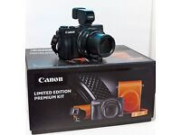 CANON POWERSHOT G1X mk 2 with case premium kit, boxed in mint condition.