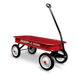 Radio Flyer wagon pull cart kids trailer