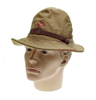 Russian Panama Afghanka Sands Military Soviet Cap Army USSR Soldier Hat - Soldier Hat