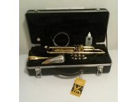 Sold. Bach 'Prelude' TR700 Student Trumpet in hard case with Mute, oil and cleaner brush