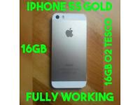 XMAS GIFT IPHONE 5S 16GB FULLY WORKING TESCO O2 NETWORK GENUINE
