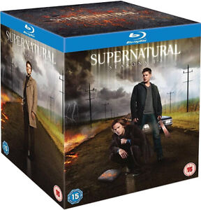 Supernatural - Complete Seasons 1- 8 (Blu ray) Season 1 2 3 4 5 6 7 8 box set