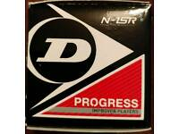 NEW Dunlop Progress balls - Red dot