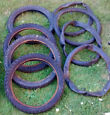 Job lot of childrens bike spares 7 tyres ,inner tub