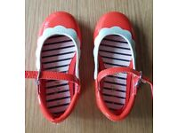 Next - Red/Orange shoes for toddler (NEW)