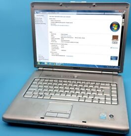 Dell Inspiron 1520 Laptop, 2gb RAM, Windows 7, Full Security & VPN, Office, no charger