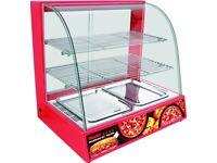 New Hot Pie Warmer Display Showcase Model 808B