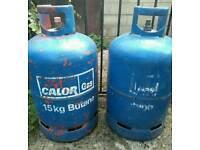 Calor gas bottles x2