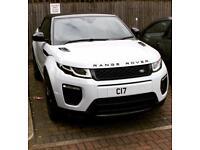 Rent / Hire Range Rover Evoque Convertible 2017 Automatic - white