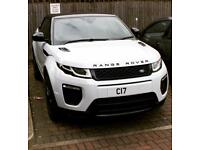Hire Range Rover Evoque Convertible 2017 Automatic - white